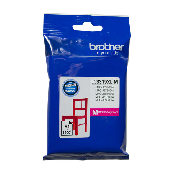 Brother MAGENTA INK CARTRIDGE TO SUIT MFC-J5330DW/J5730DW/J6530DW/J6730DW/J6930DW/ - UP TO 1500 PAGES