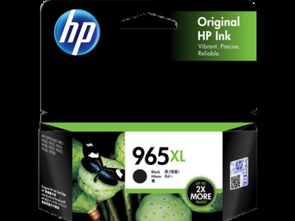 HP 965XL Black Original Ink Cartridge | 3JA84AA | Rosman Computers - 1