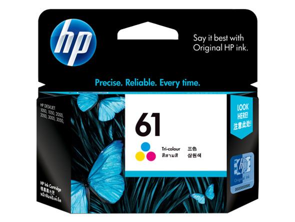 HP 61 Tri-Color Inkjet Print Cartridge   CH562WA   Rosman Computers - 3