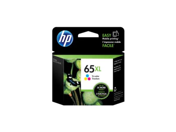 HP 65XL High Yield Tri-color Original Ink Cartridge | N9K03AA | Rosman Computers - 2