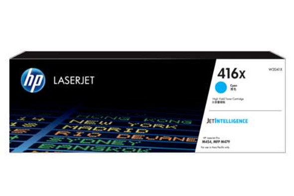 HP 416X Cyan LaserJet Toner Cartridge