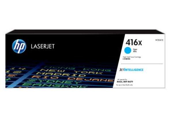 HP 416X Cyan LaserJet Toner Cartridge | W2041X | Rosman Computers - 3