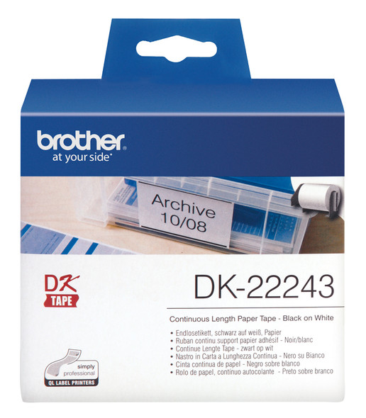 Brother (EOL) WHITE CONTINUOUS PAPER ROLL 102MMx30.48M FOR QL-1050/1060N