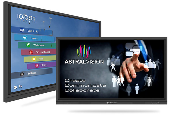 "AstralVision AVSA Pro 86"" Interactive Touchscreen | 9369998082643 | Rosman Computers - 1"