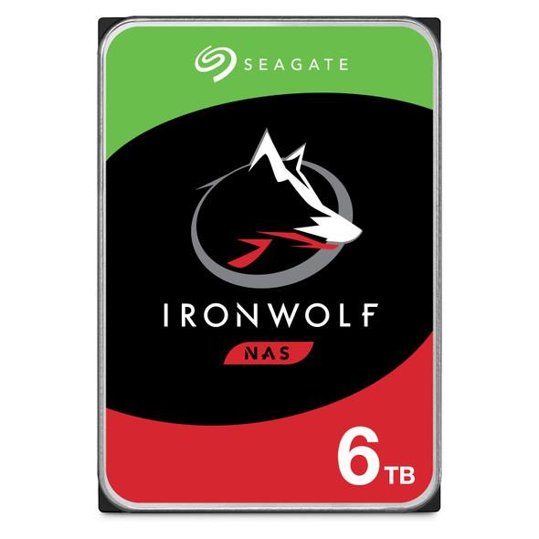 "Seagate IronWolf NAS HDD 3.5"" 6TB SATA 5400RPM 256MB CACHE NO ENCRYPTION 3YRS"