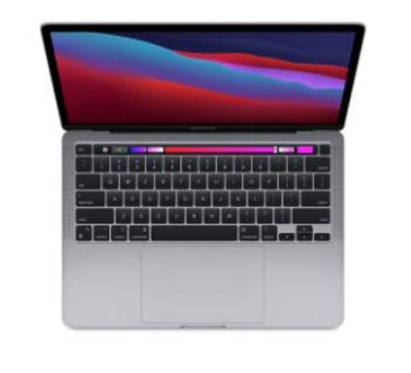 13-inch MacBook Pro: Apple M1 chip with 8 core CPU and 8 core GPU, 512GB SSD - Space Grey | MYD92X/A | Rosman Computers - 1