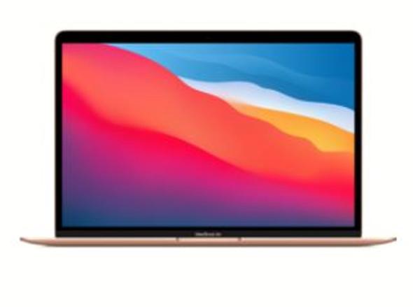 13-inch MacBook Air: Apple M1 chip with 8-core CPU and 7-core GPU, 256GB - Gold
