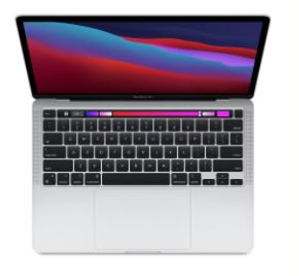 13-inch MacBook Pro: Apple M1 chip with 8 core CPU and 8 core GPU, 512GB SSD - Silver | MYDC2X/A | Rosman Computers - 1