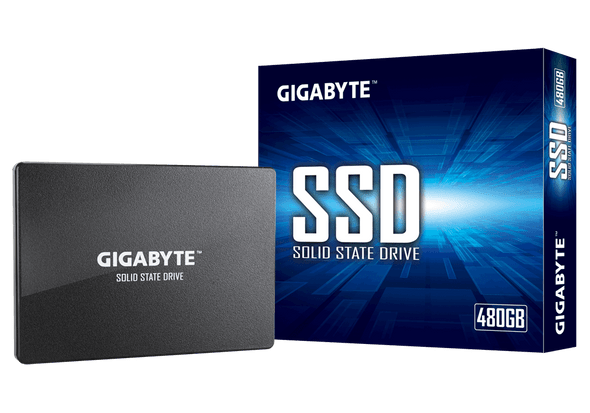"""Gigabyte, SATA SSD, 2.5"""", 480GB, Read: up to 550MB/s(75k IOPs), Write: up to 480MB/s(70k IOPs), 3 Years Limited Warranty 