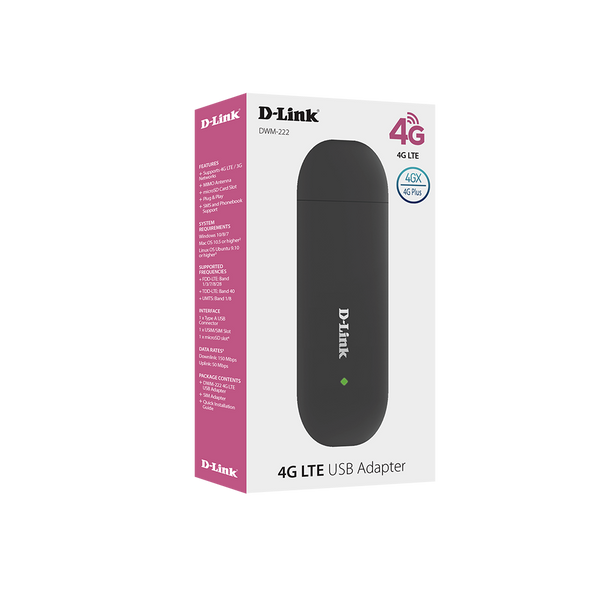 Dlink 4G LTE USB Adapter