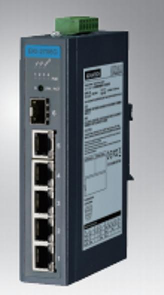 Advantech 5GE+1G SFP UNMANAGED IND. POE SWITCH (-10 ~ 60C) | EKI-2706G-1GFP-AE | Rosman Computers - 1