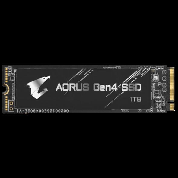 Gigabyte AORUS NVMe Gen4 M.2 1TB PCI-E 4.0 Interface HP Gaming, 3D TLC NAND, Ext DDR Cache Buffer, SSD | GP-AG41TB M2 1TB | Rosman Computers - 5