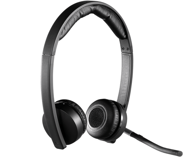 Logitech Wireless Headset Mono H820e | 981-000512 | Rosman Computers - 6