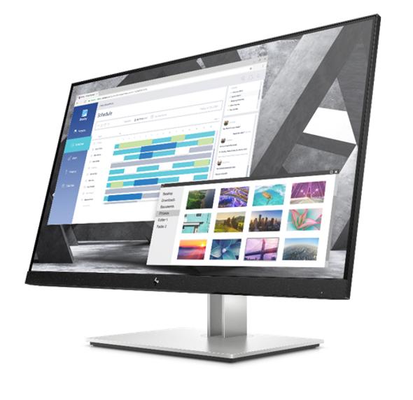 """HP E27Q G4, 27"""" QHD IPS, EYE EASE, 16:9, 2560 x 1440, VGA+DP+HDMI, Tilt, Swivel, Pivot, Height, USB, 3 Yrs (replaces E273Q 1FH52AA)"""