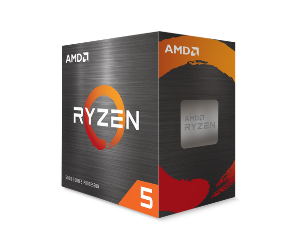 AMD Ryzen 5 5600X 6-Core/12 Threads, Max Freq 4.6GHz, 35MB Cache Socket AM4 105W, With Wraith Stealth cooler | 100-100000065BOX | Rosman Computers - 3