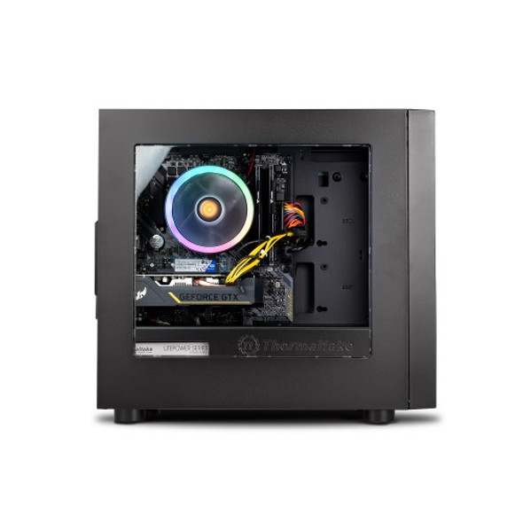 Thermaltake Computer System Genesis - AMD Ryzen 3 - 3100/ 1650 Super/ 16GB DDR4 3000Mhz/ A520 Chipset/ H18 | CA-4Y2-00D1WA-00 | Rosman Computers - 2