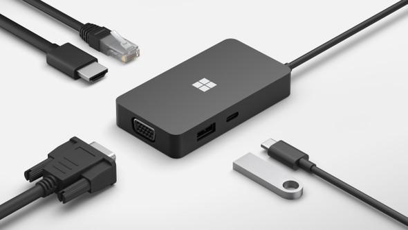 Microsoft Surface USB-C Travel Hub Commercial | 1E4-00005 | Rosman Computers - 3