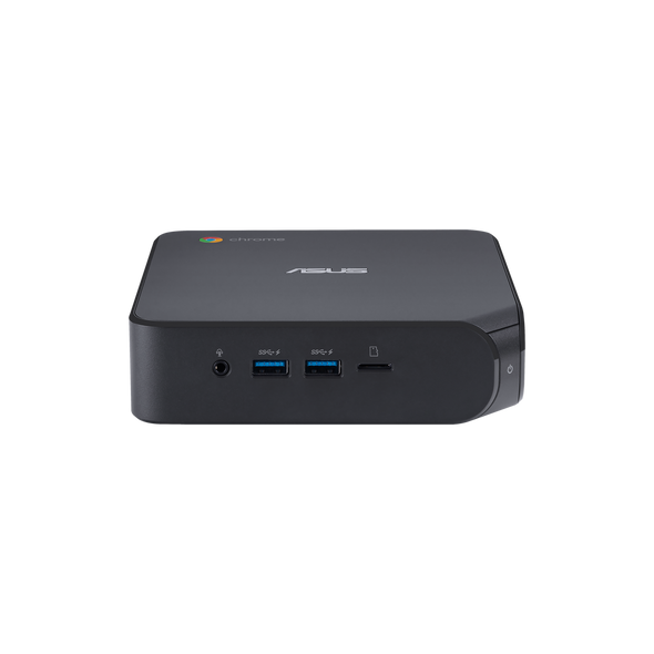 Asus Chromebox 4 - CEL-5205U, 4GB DDR4, 64GB eMMC, 3xUSB 3.1, 2xUSB 2.0, 1xUSB-C, 2xHDMI 2.0, 1xRJ45, Integrated GPU, WiFi AX201, BT 5.0, NO KBM; 1YR OSS