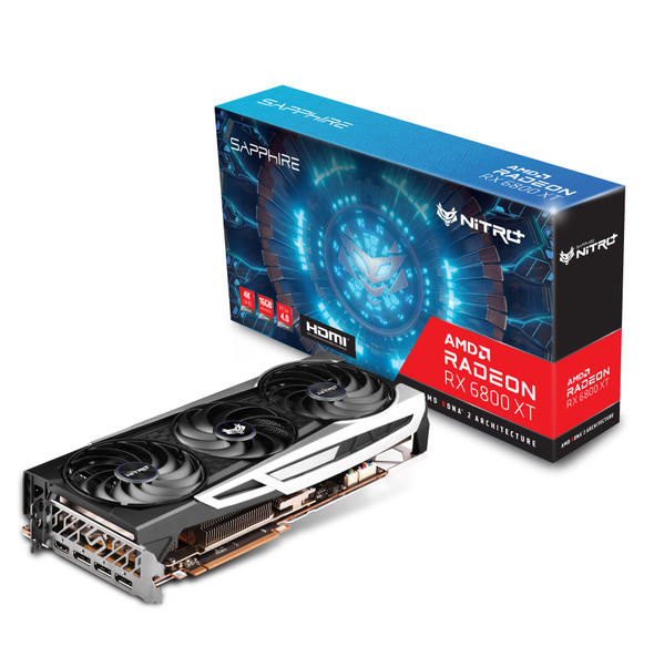 SAPPHIRE NITRO+ AMD Radeon™ RX 6800 XT Gaming Graphics Card With 16GB GDDR6, AMD RDNA™ 2 HDMI/TRIPLE DP