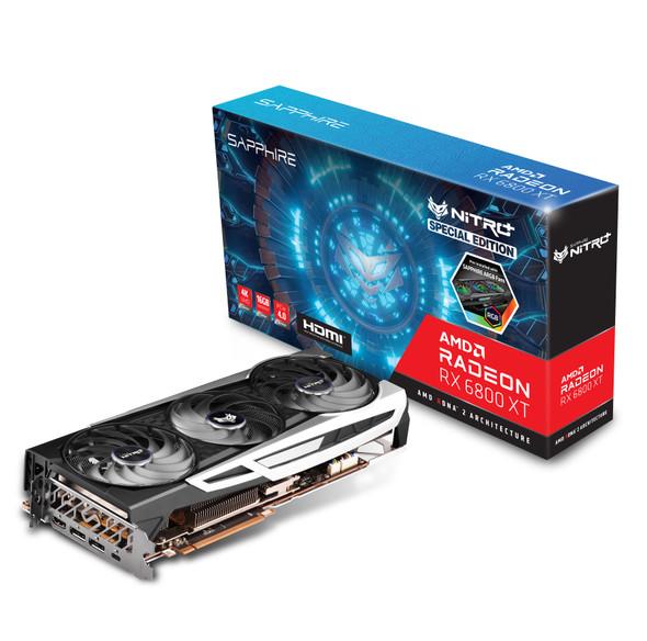 SAPPHIRE NITRO+ AMD Radeon™ RX 6800 XT SE Gaming Graphics Card With 16GB GDDR6, AMD RDNA™ 2 USB-C/HDMI/DUAL DP | VCS-RX6800XT-NITSE | Rosman Computers - 2