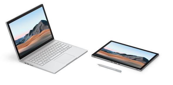 Microsoft Surface Book 3 13in i7 32GB 512GB GPU Win10 Pro Commercial No Pen + Privacy Glass