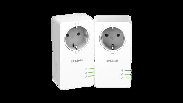 Dlink PowerLine AV2 1000 Passthrough Adapter Starter Kit | DHP-P601AV | Rosman Computers - 2