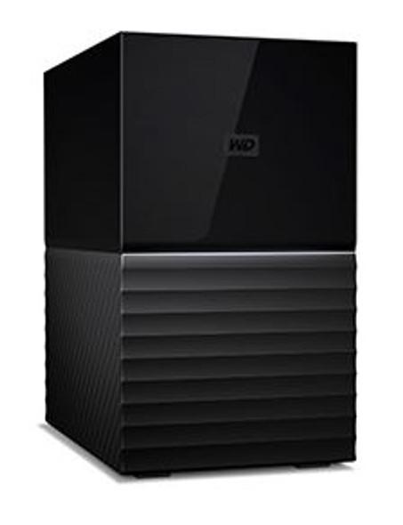 Western Digital My Book Duo 20TB Desktop RAID External Hard Drive USB 3.1 Gen2 - Black | WDBFBE0200JBK-AESN | Rosman Computers - 3
