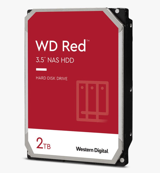 "Western Digital WD RED/2TB/INTELLIPOWER/DDR2/3.5""/ 3YRS/128Cache"