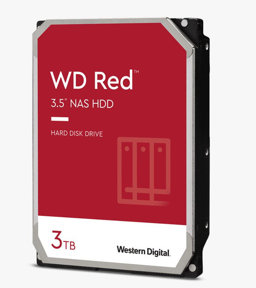 "Western Digital WD RED/3TB/INTELLIPOWER/DDR2/3.5""/ 3YRS/128Cache"