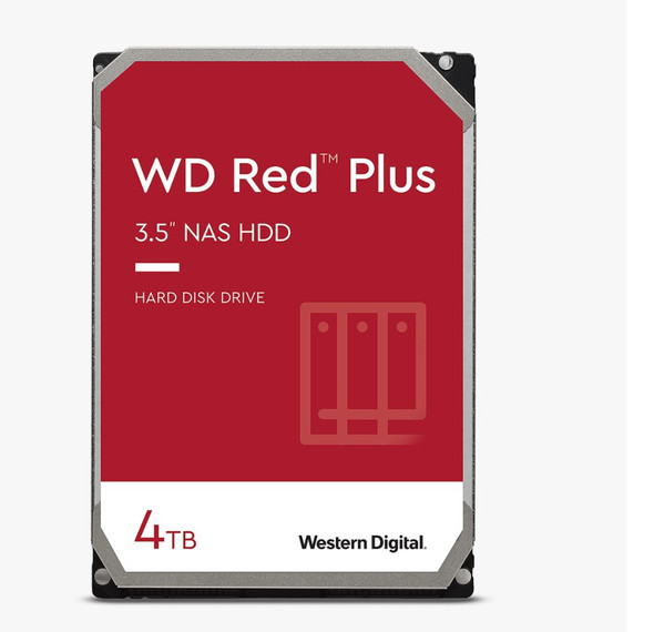 Western Digital WD Red Plus SATA 4TB 128 Cache 3.5""