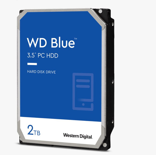 "Western Digital WD Blue /  form factor:3.5"" / SATA / 2TB / Warranty 2 yrs WD20EZBX"