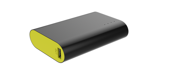 Sprout 10,000mAh Compact Powerbank Black