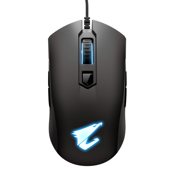 Gigabyte AORUS, M4, Gaming Mouse, 6400dpi, Pixart 3988 Optical Sensor, 4 side buttons, USB Corded, RGB Fusion 2.0, 2 Years Warranty | GM-AORUS M4 | Rosman Computers - 1