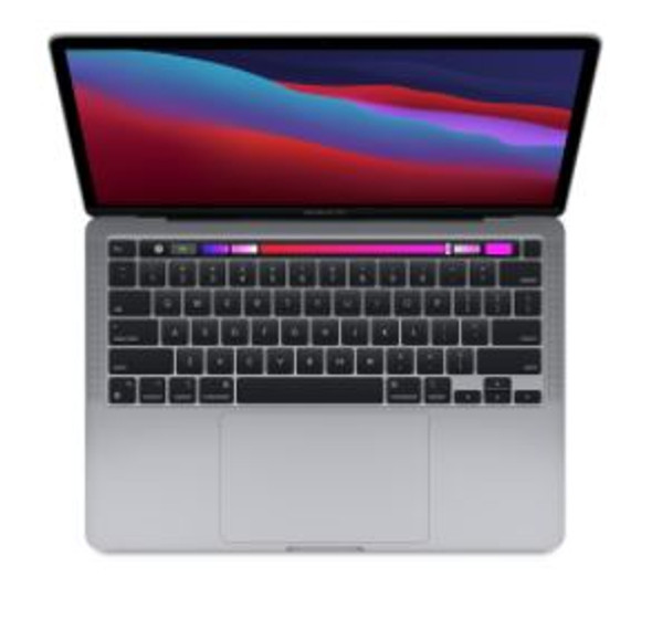 CTO 13-inch MacBook Pro with Touch Bar/Space Grey/Apple M1 chip with 8-core CPU and 8-core GPU/16GB/512GB SSD storage/M1 Chip/Backlit KB/ | Z11C000C1 | Rosman Computers - 2