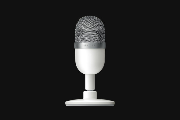 Razer Seiren Mini - Ultra-Compact Condenser Microphone - Mercury - FRML Packaging | RZ19-03450300-R3M1 | Rosman Computers - 1