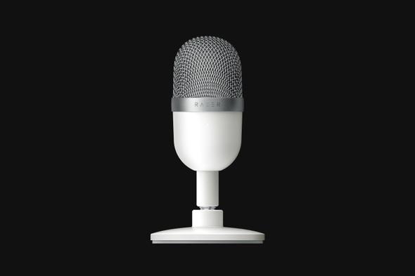 Razer Seiren Mini - Ultra-Compact Condenser Microphone - Mercury - FRML Packaging | RZ19-03450300-R3M1 | Rosman Computers - 2
