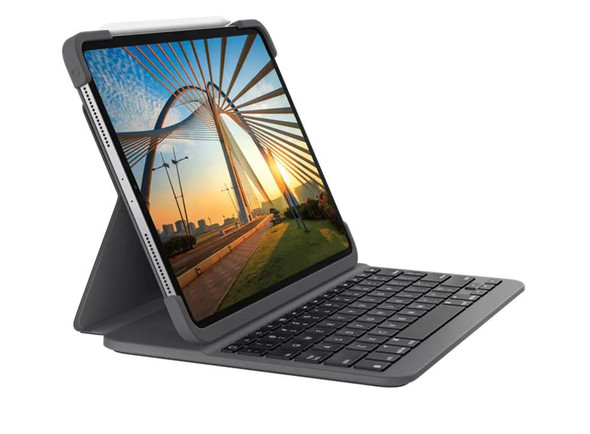 Logitech Slim Folio Pro for iPad Pro 11-inch (1st and 2nd gen) | 920-009720 | Rosman Computers - 3