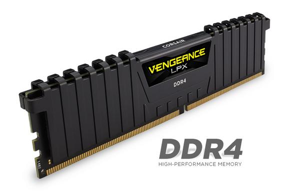 CORSAIR Vengeance LPX 16GB (2x8GB) DDR4 DRAM DIMM 3200MHz C16 Black Heat spreader | CMK16GX4M2B3200C16 | Rosman Computers - 2