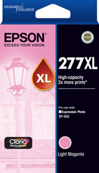 Epson 277XL High Capacity Claria Photo HD Light Magenta ink | C13T278692 | Rosman Computers - 1