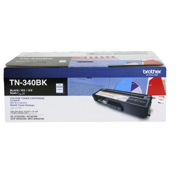Brother TN340 Black Laser Toner for HL4150CDN/4570CDW   TN-340BK   Rosman Computers - 1