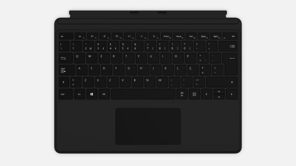 Microsoft Surface ProX Keyboard Black Commercial | QJX-00015 | Rosman Computers - 1