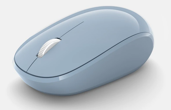 Microsoft MS Bluetooth Mouse Pastel Blue   RJN-00017   Rosman Computers - 1