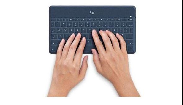 Logitech Keys-to-Go Ultra Slim Keyboard with iPhone Stand BLUE
