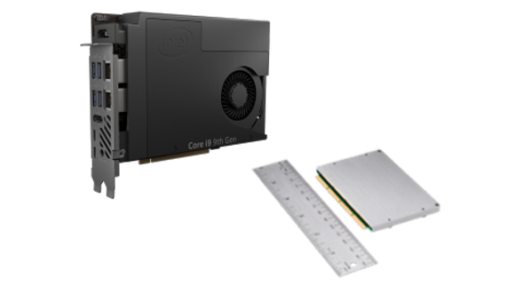 Intel NUC 11 Compute Element CM11EBv716W, with Intel Core i7 vPro Processor and 16GB RAM, single pack