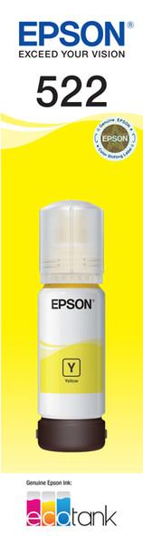 Epson 522 Yellow Ink Bottle - ET-2710 | C13T00M492 | Rosman Computers - 1