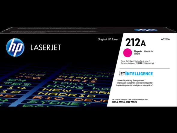 HP 212A Magenta Original LaserJet Toner Cartridge | W2123A | Rosman Computers - 2