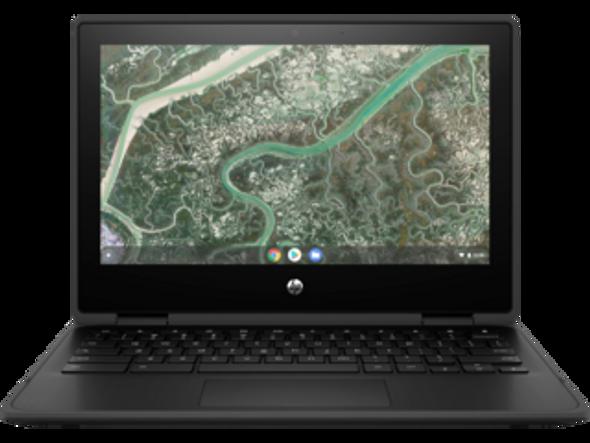 "HP Chromebook x360 11MK G3, 11.6"" HD Touch, MediaTek MT8183, 4GB, 32GB eMMC, Chrome 64, No Cam, Jet Black, 1Yr RTB Warranty | 40K38PA | Rosman Computers - 1"