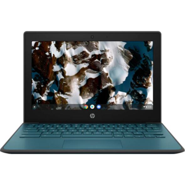 "HP Chromebook 11MK EE G9, 11.6"" HD, MediaTek MT8183, 8GB, 64GB eMMC, Chrome64, Nautical Teal, 1Yr RTB Warranty | 408J8PA | Rosman Computers - 2"