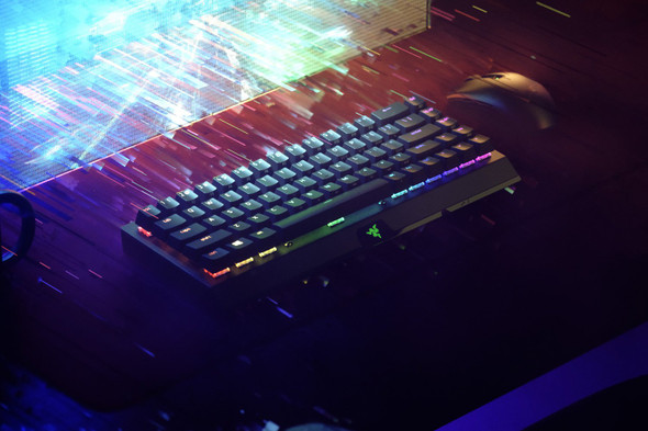 Razer BlackWidow V3 Mini HyperSpeed-65% Wireless Mechanical Gaming Keyboard (Green Switch)-US Layout-FRML Packaging | RZ03-03891400-R3M1 | Rosman Computers - 2