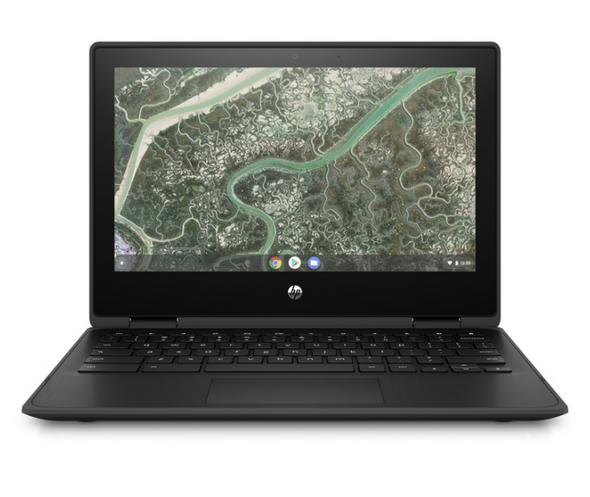 "HP Chromebook x360 11MK G3, 11.6"" HD Touch, MediaTek MT8183, 8GB, 64GB eMMC, Chrome 64, Cam, Jet Black, 1Yr RTB Warranty   40K41PA   Rosman Computers - 1"